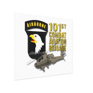 101st Combat Aviation - Apache Canvas Prints