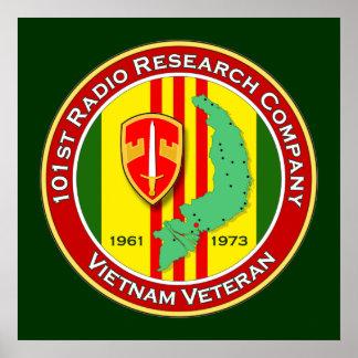 101st RRC 2 - ASA Vietnam Poster