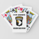 101st Screaming Eagles Playing Cards