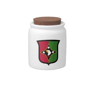101st Sustainment Brigade Candy Jar