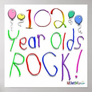¡102 años de la roca! póster