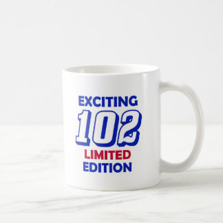 102 Birthday Design Coffee Mug