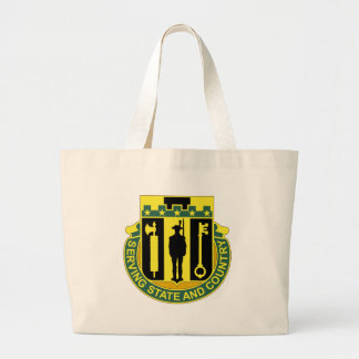 102 Military Police Battalion Jumbo Tote Bag
