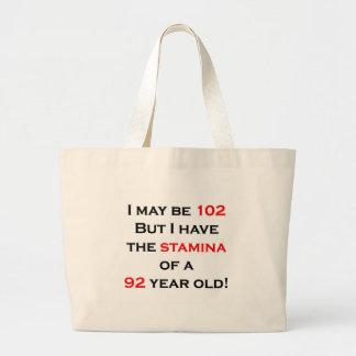 102 Stamina Jumbo Tote Bag