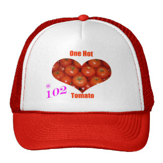 102 un tomate caliente gorras