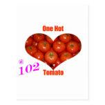 102 un tomate caliente postal