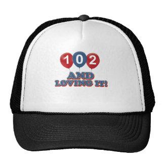 102 y amor de lo gorra