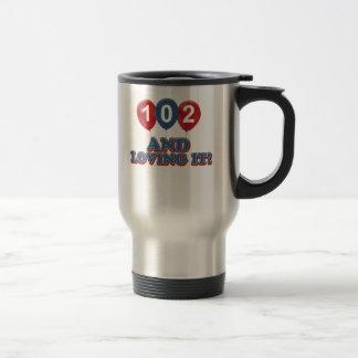 102 y amor de lo taza de viaje