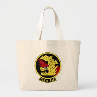 102nd flight squadron jumbo tote bag