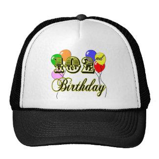 102o Cumpleaños con los globos Gorras