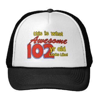 102os diseños de los años gorras