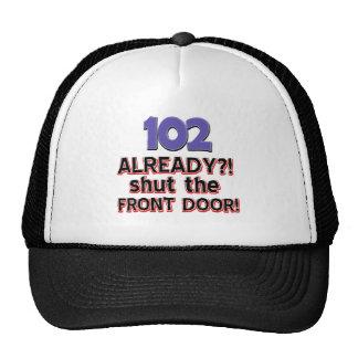 102os diseños del cumpleaños gorras de camionero