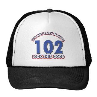 102os diseños del cumpleaños gorro