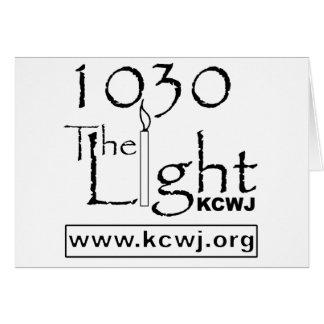 1030 el negro de la luz tarjeta de felicitación