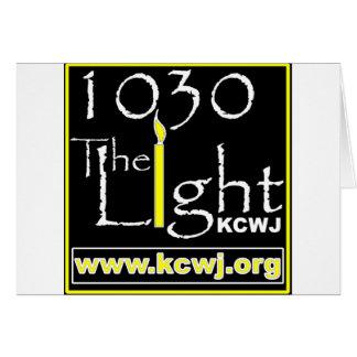 1030 la luz tarjeta de felicitación