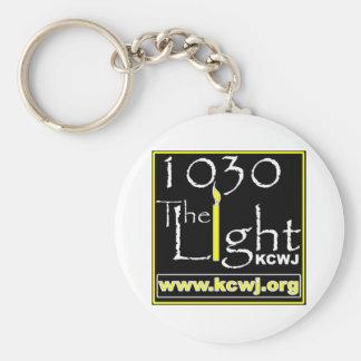 1030 The Light Basic Round Button Keychain