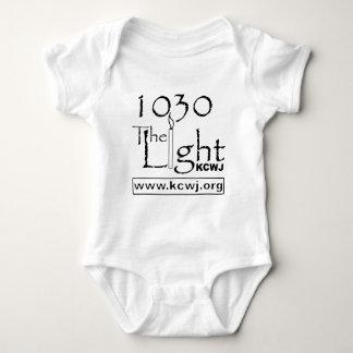 1030 The Light  Black Baby Bodysuit