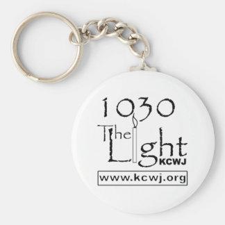 1030 The Light  Black Keychains