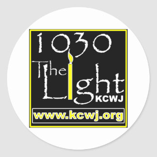 1030 The Light Classic Round Sticker