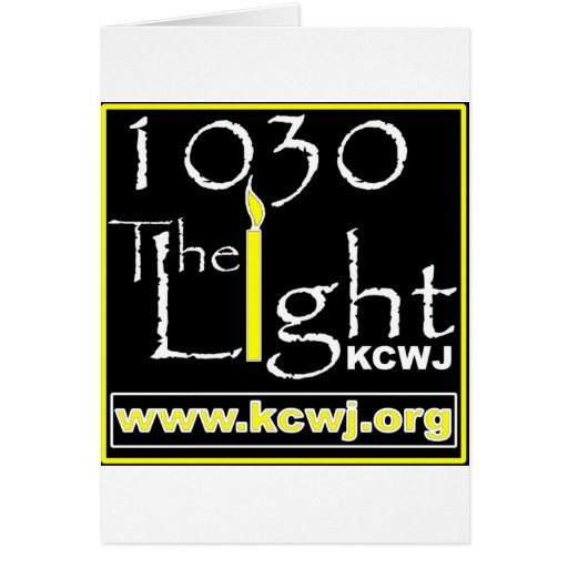 1030 The Light Greeting Card