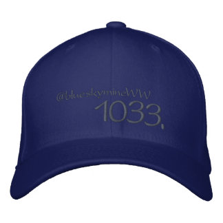 1033. How far will you go? Embroidered Baseball Hat