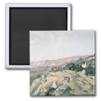 103-007950 The Highest Point, Catalonia 2 Inch Square Magnet