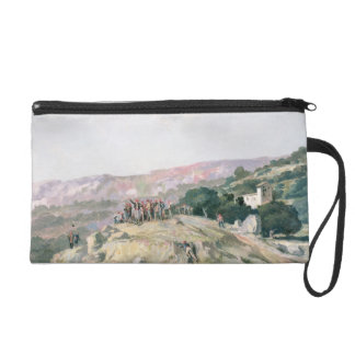 103-007950 The Highest Point, Catalonia Wristlet Clutches
