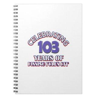 103 años de infierno de aumento notebook