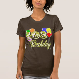 103rd Birthday with Balloons T-Shirt