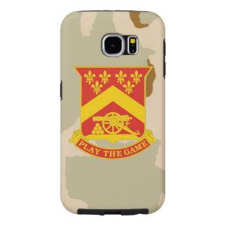 """103rd Field Artillery Regiment """"Desert Camo"""" Samsung Galaxy S6 Cases"""