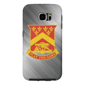 "103rd Field Artillery Regiment ""Steel Color"" Samsung Galaxy S6 Cases"