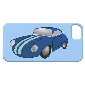 10406-classic-car-vector BLUE CLASSIC CAR GROUND T iPhone 5 Case