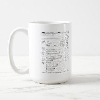 1040 Income Tax Form Coffee Mug