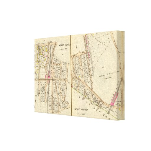 104105 Mt Vernon Stretched Canvas Prints