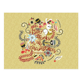 1049.2 Give Thanks In All Circumstances-01.png Postcard
