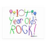 ¡104 años de la roca! tarjetas postales