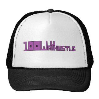 #104 (black outlines) trucker hat