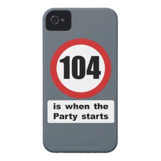 104 es cuando el fiesta comienza iPhone 4 coberturas