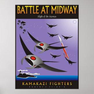 104 - Kamakazi Battle at Midway Poster