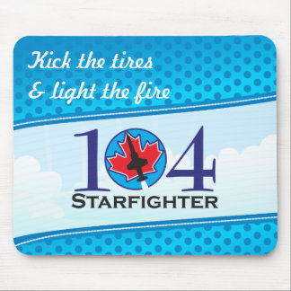 104 Starfighter Mouse Pad