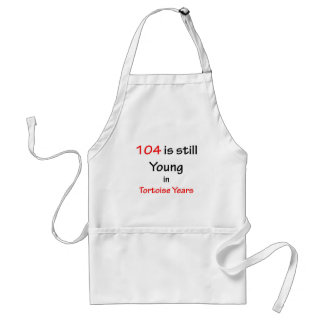 104 Tortoise Years Aprons