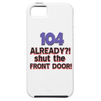 104os diseños del cumpleaños iPhone 5 funda