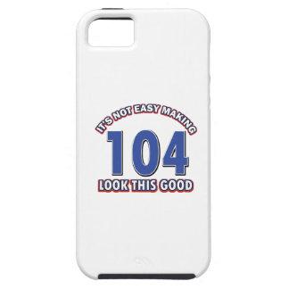 104os diseños del cumpleaños iPhone 5 fundas