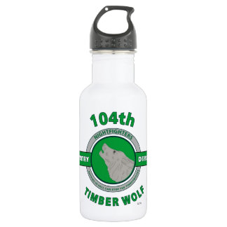 "104TH INFANTRY DIVISION ""TIMBER WOLF"" 18OZ WATER BOTTLE"