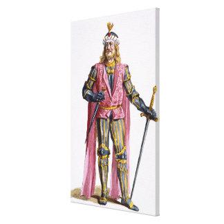 1053-82) cuentas de Theodoric I (de Holanda de 'Re Impresion De Lienzo