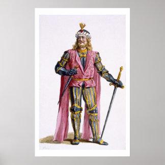 1053-82) cuentas de Theodoric I (de Holanda de 'Re Posters