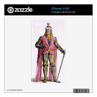 1053-82) cuentas de Theodoric I (de Holanda de 'Re iPhone 4S Skins