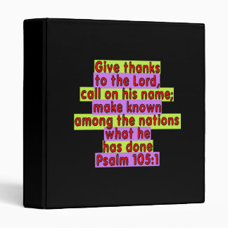 105 1 del salmo