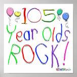 ¡105 años de la roca! impresiones
