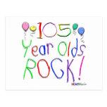 ¡105 años de la roca! tarjetas postales